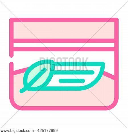 Organic Night Cream Color Icon Vector. Organic Night Cream Sign. Isolated Symbol Illustration