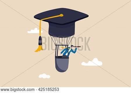 Education Or Knowledge To Growth Career Path, Working Skill To Success In Work, Learn Or Study New C
