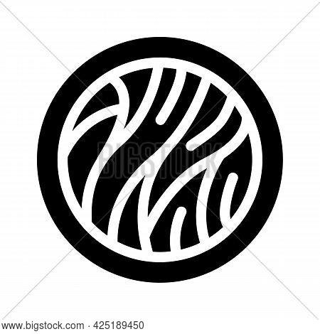 Cellulose Nutrition Fact Glyph Icon Vector. Cellulose Nutrition Fact Sign. Isolated Contour Symbol B