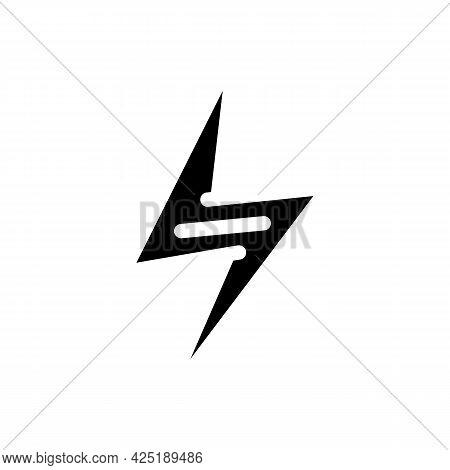 Energy Nutrition Glyph Icon Vector. Energy Nutrition Sign. Isolated Contour Symbol Black Illustratio