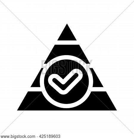 Balanced Diet Glyph Icon Vector. Balanced Diet Sign. Isolated Contour Symbol Black Illustration