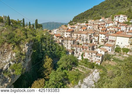 Peille, One Of The Most Beautiful Hilltop Villages On The Côte D'azur.