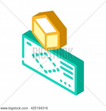 Creating Templates Isometric Icon Vector. Creating Templates Sign. Isolated Symbol Illustration