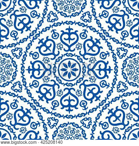 Elegance Oriental Arabic Pattern, Arabesque Islamic Ornament Decor