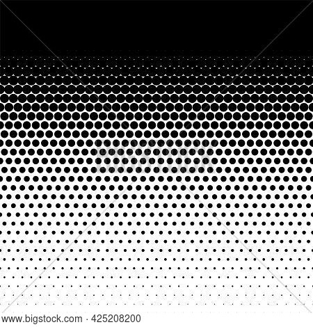 Halftone Dots Pattern, Comic Points Fade Background Element