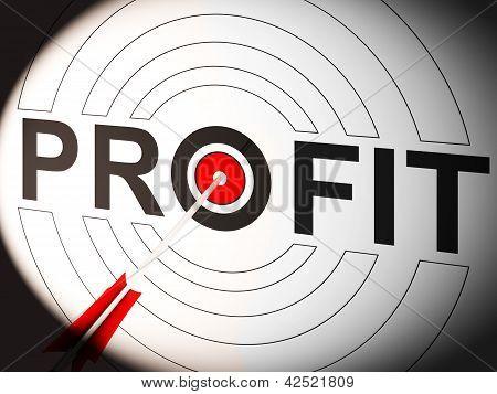 Gewinn zeigt lukrative Investitionen in Handelsmarkt