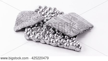 Cobalt Ore, A Metallic Chemical Element That Is Related To Iron And Nickel. Used In Industry. To Cre