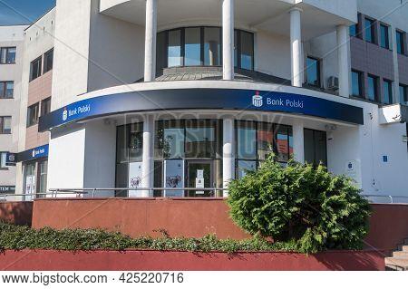 Pila, Poland - May 31, 2021: Pko Bp Bank Office.