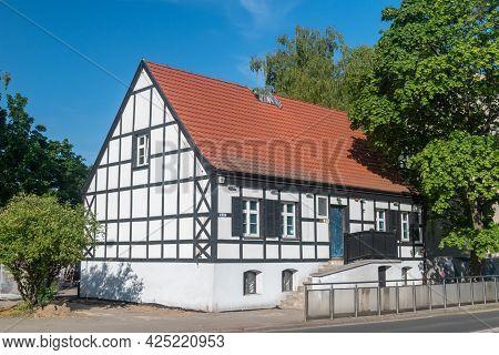 Pila, Poland - May 31, 2021: Stanislaw Staszic Museum. Stanislaw Wawrzyniec Staszic Was A Polish Cat