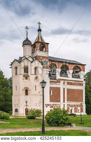 Belfry In Monastery Of Saint Euthymius, Suzdal, Russia