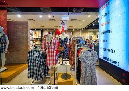 SINGAPORE - CIRCA JANUARY, 2020: interior shot of a store in Singapore.
