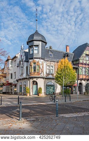 Berlin, Germany - October 25, 2020: Emisch-haus, A Listed Cultural Monument Of The 19th-century Vill