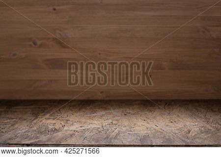 Wooden table top background texture.   Wood tabletop front view with copy space