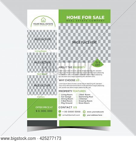 Real Estate Flyer Design Template For Your Business Or Service
