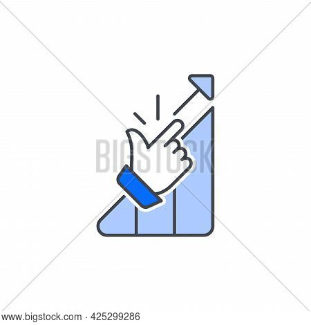 Without Efforts. Vector Icon In Outline Style