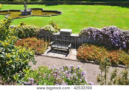 The gardens of Culzean Castle, Ayrshire