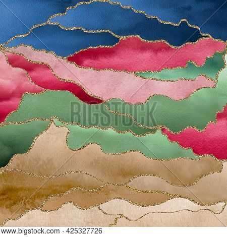 Graphic Design Elements - Can Be Used As Wall Paper, Textile Design, Pattern, Texture, Background, I