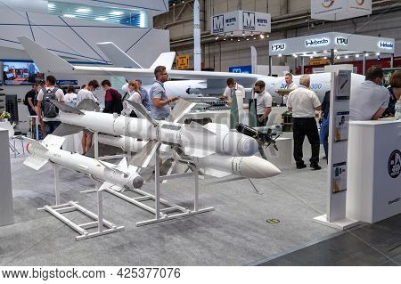 Air Missiles. Exposition Of Air-to-air, Air-to-surface And Anti-ship Missiles At The International E