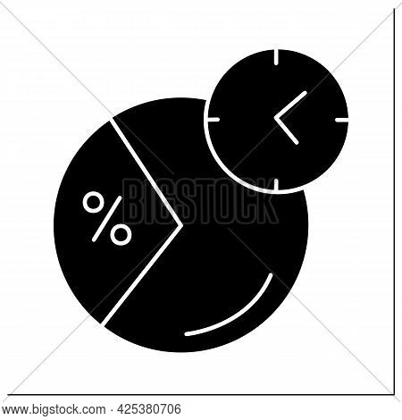 Daily Value Glyph Icon. Daily Nutrition Supplements Percentage. Eat Period. Portion Control. Healthy