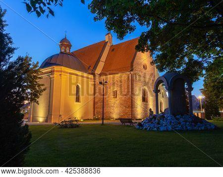 Poznan. Church Of St. John Of Jerusalem Outside The Walls.