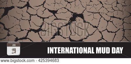 Card For Event June Day International Mud Day