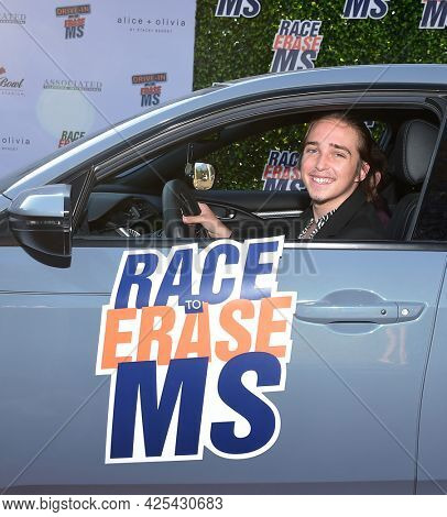 LOS ANGELES - JUN 04: Michael Campion arrives for the 2021 Race to Erase MS Drive-In on June 04, 2021 in Pasadena, CA