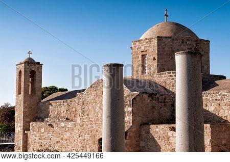 Agia Kyriaki Chrysopolitissa Medieval Church. Paphos, Cyprus