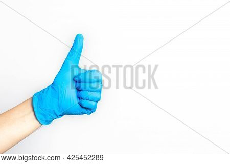 Agree, Approval, Approved, Arm, Awesome, Background, Blue, Closeup, Concept, Cool, Copy Space, Coron