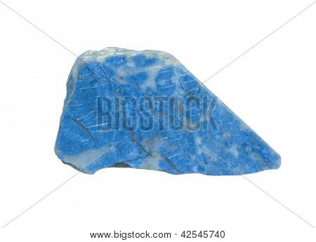 Lapis-lazuli Isolated On White