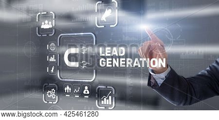 Lead Generation. Finding And Identifying Customers For Your Business Products Or Services