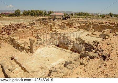 Kato Paphos Archaeological Park In Paphos City, Cyprus