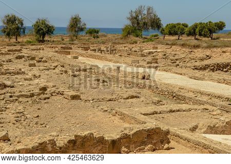 Kato Paphos Archaeological Park In Paphos City On Cyprus