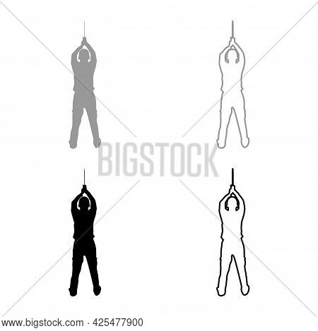 Man With Sword Machete From Above Cold Weapons In Hand Military Man Soldier Serviceman In Various Po