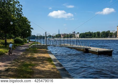 View Of The Neva River From The Stone Island.