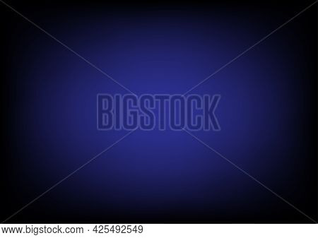 Black And Dark Blue Gradient Abstract Background Is Used For Graphic Resources.