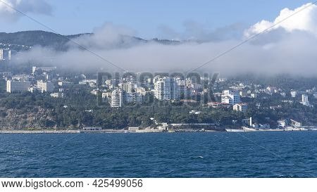 Seascape With A View Of The Coastline Of Yalta, Crimea