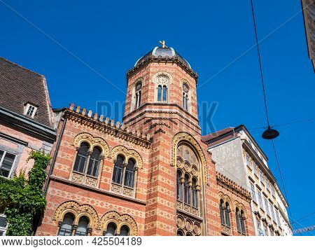 Holy Trinity Greek Orthodox Church In Vienna, Austria, Callde Griechenkirche Zur Heiligen Dreifaltig