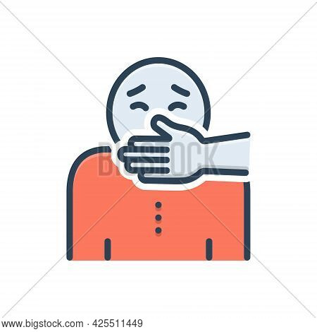 Color Illustration Icon For Kidnapping Abduction Usurpation Despoilment Spoil