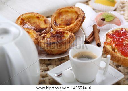 traditional portuguese cakes - cream cake