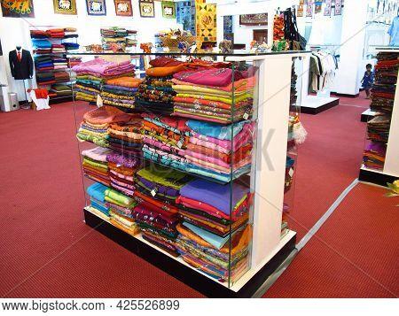 Kandy, Sri Lanka - 07 Jan 2011: The Gift Shop, Kandy, Sri Lanka