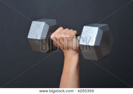 Weight Lift Dumb Bells