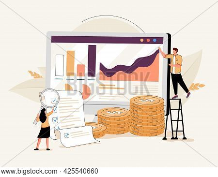 Cost Optimization Online Service Or Platform. Spending And Cost Reduction, While Maximizing Business