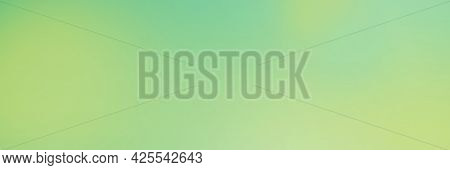 Abstract Gradient Color Background. Green Ash Color Mix With Mint And Illuminating Yellow. Backgroun