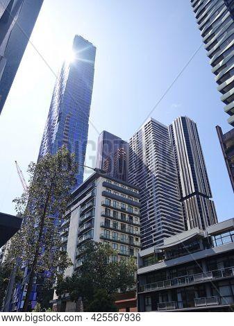 An image of a city impression of Melbourne Australia