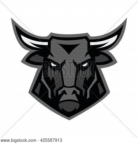 Bull. Bull Head. Bull Logo. Bull Vector. Bull Illustration. Bull Icon. Abstract Bull Head. Bull Masc