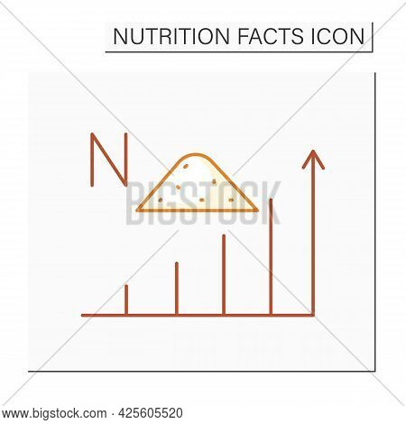 Sodium Content Color Icon. Energy Value. High Level Alkali. Nutrient Supplements. Nutrition Facts. N
