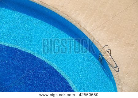 Hotel Pool Abstract