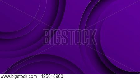 Image of purple curved lines moving on seamless loop. repetition and movement concept digitally generated image.