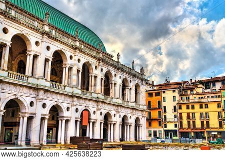 Basilica Palladiana In Vicenza, Unesco World Heritage In Italy