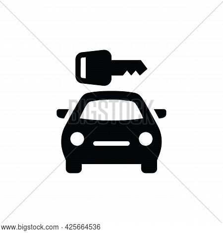Car Icon. Vector Car Icon Isolated On White Background. Car Icon Trendy And Modern Cart Symbol For L